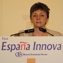 CATERINA BISCARI AT THE FORUM ESPAÑA INNOVA