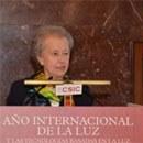 CLAUSURA DEL AÑO INTERNACIONAL DE LA LUZ EN MADRID