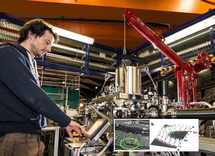 PUBLICADO EN NATURE COMMUNICATIONS - La luz de sincrotrón permite ver la imanación de capas magnéticas enterradas